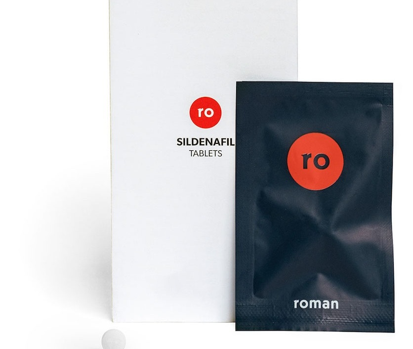 roman is a men's health company where shoppers can purchase ED meds online.
