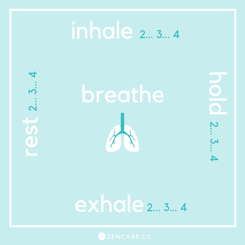 Square Breathing: How To Reduce Stress Through Breathwork