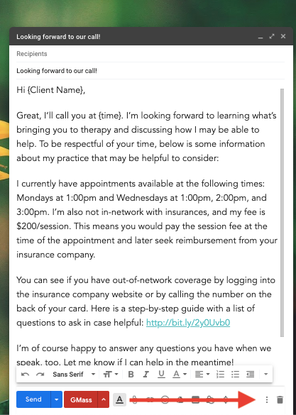 5 Email Templates For Your Private Practice Zencare Therapist Blog