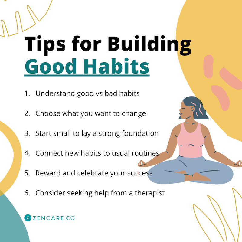 6 Tips for Building Good Habits
