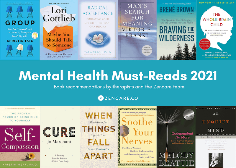 2021 Book Recommendations: 15 Mental Health Must-Reads