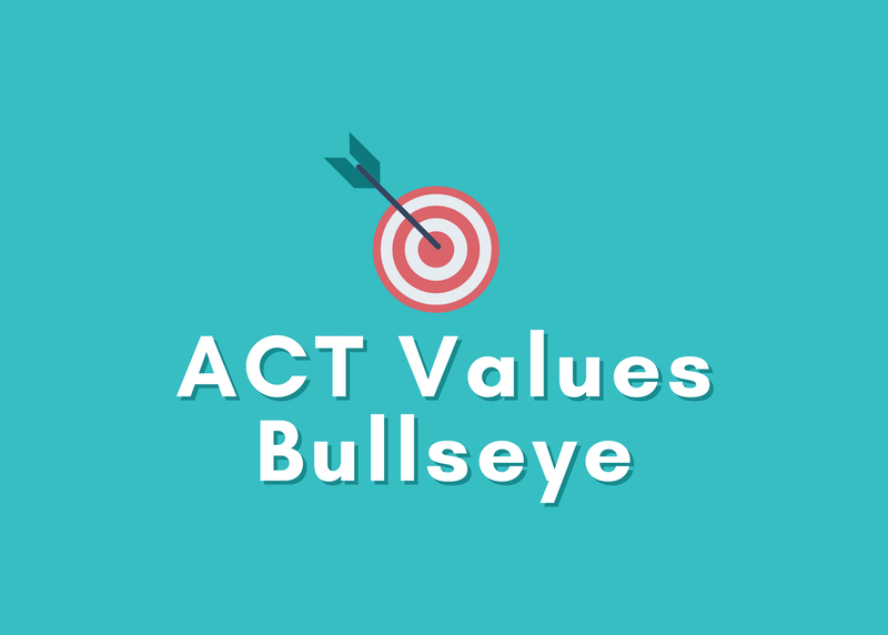 How to Use an ACT Values Bullseye to Find What's Important to You