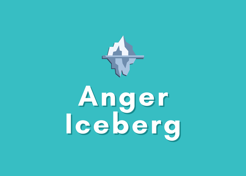"""Using the """"Anger Iceberg"""" to Identify Your Underlying Emotions"""