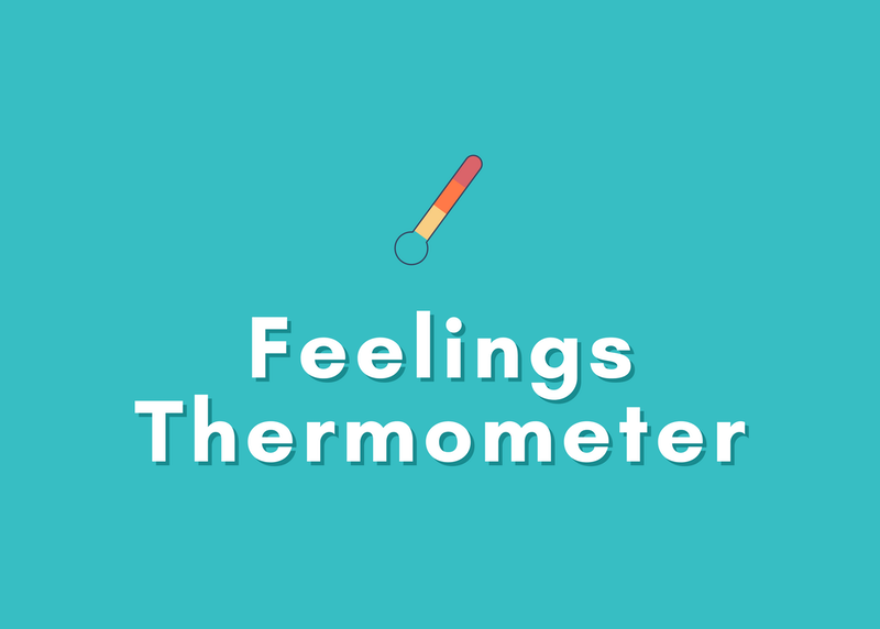 """""""Feelings Thermometer"""" Tool for Deciphering Kids' Emotions"""