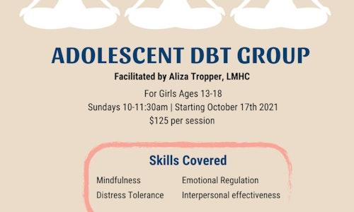 Adolescent Virtual DBT group