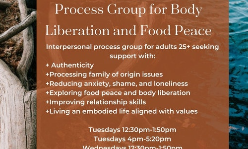 Process group for Body Liberation and Food Peace
