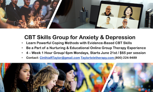 CBT Skills for Anxiety, Depression & Stress Management