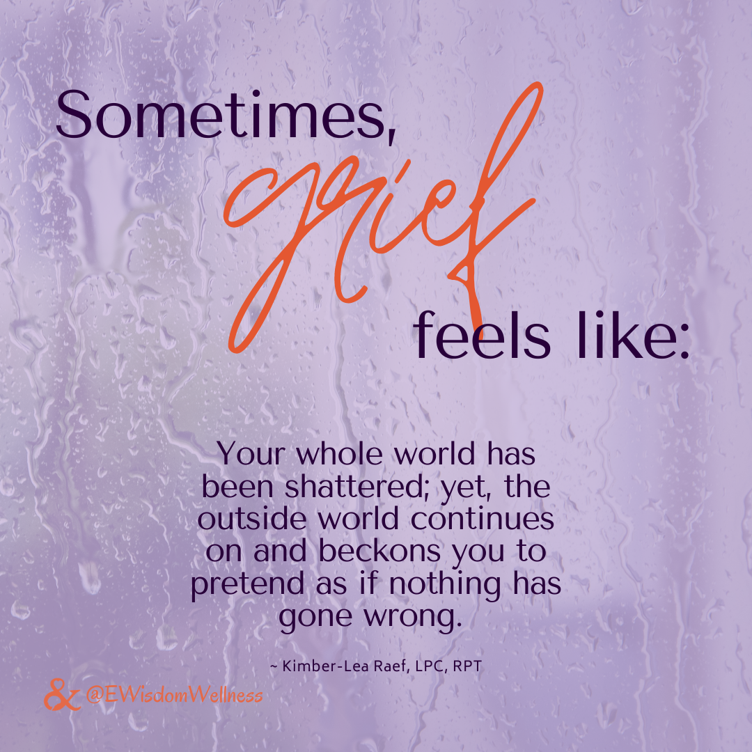 Support for Grieving A Loved One