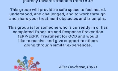 OCD/ERP Support Group