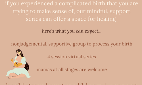 Birth Story Support Circle