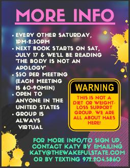 Book Club for Big Folx